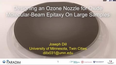 Thumbnail for entry Joseph Dill 2020 REU final presentation