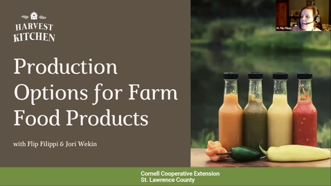Thumbnail for entry Production Options for Farm Food Products, CCE-St.Lawrence, 2/20/2021