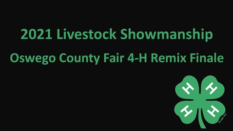 Thumbnail for entry 2021 Livestock Showmanship