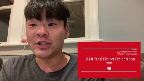Thumbnail for entry David Park - Financial Analytics Balance Scorecard