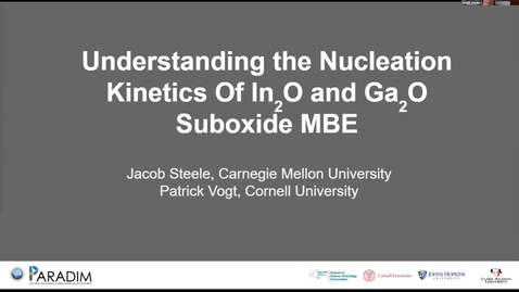 Thumbnail for entry Jacob Steele 2020 REU final presentation