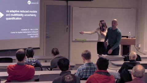 Thumbnail for entry CAM Colloquium 2017-05-05, Karen Wilcox: Data to decisions via multi-fidelity modeling and adaptive reduced models