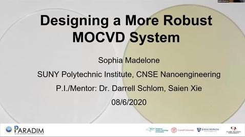 Thumbnail for entry Sophia Madelone 2020 REU final presentation