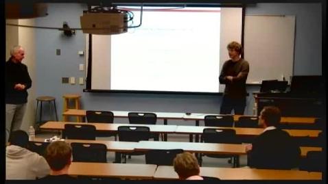 Thumbnail for entry CAM Colloquium 2013-02-08, Dennis Amelunxen