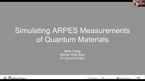 Thumbnail for entry Boris Tsang 2020 REU final presentation