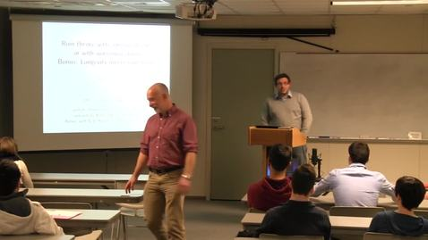 Thumbnail for entry CAM Colloquium, 2014-02-28 - Stephane Loisel: Ruin Theory with Correlated Risks or with Worsening Claims