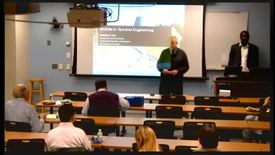 Thumbnail for entry Ezra's Round Table/Systems Engineering Seminar, 10/19/2012  - Mamadou Seck