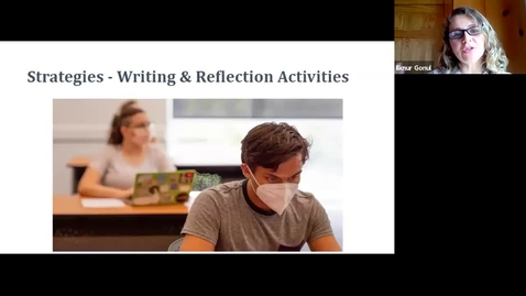 Thumbnail for entry Teaching Strategies 2 - Writing & Reflection Activities