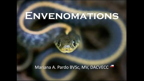 Thumbnail for entry Envenomations: ACVECC Exam Webinar August 22, 2019