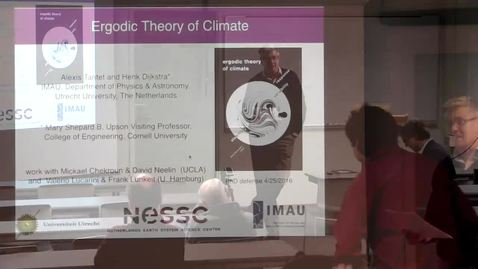 Thumbnail for entry CAM Colloquium, 2016-04-29 - Henk Dijksra: Ergodic Theory of Climate