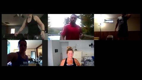 Thumbnail for entry Cornell Wellness Virtual Bootcamp Class #1