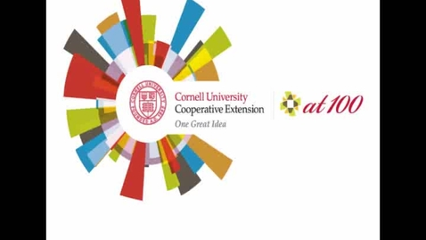 Thumbnail for entry Cornell Cooperative Extension Centennial