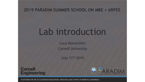 Thumbnail for entry Thursday_Lab introduction (Moreschini)