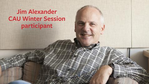 Thumbnail for entry Jim Alexander testimonial 1