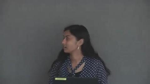 Thumbnail for entry 2017 REU Vibha Vijayakumar CNF HHMI KEP PARADIM REU Nano-Convocation