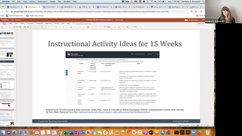 Thumbnail for entry Timing & Instructional Activities