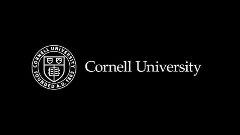 Thumbnail for entry Cornell Stories of Immigration and Success, Andrew Tisch - November 2, 2018