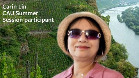 Thumbnail for entry Carin Lin on CAU