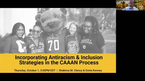 Thumbnail for entry Incorporating Antiracism and Inclusion Strategies in the CAAAN Process