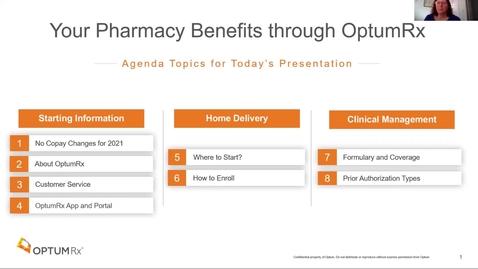 Thumbnail for entry OptumRX Presentation - Benefair Week 2020
