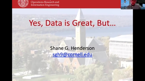 Thumbnail for entry Day of Data 2021:  Yes, Data is Great, But...