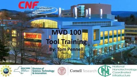 Thumbnail for entry MVD 100 Training Video