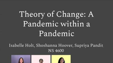 Thumbnail for entry A Pandemic Within a Pandemic