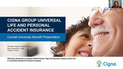 Thumbnail for entry Cigna Group Insurance - Benefair Week 2020