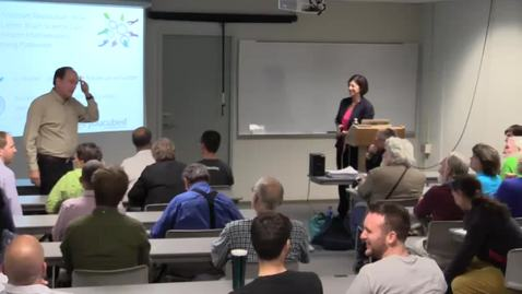 Thumbnail for entry CAM Colloquium, 2016-09-16 - Jo Boaler: The Mindset Revolution: How the Latest Brain Science Can Transform Mathematics Learning Pathways.