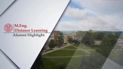 Thumbnail for entry Alumni Highlight