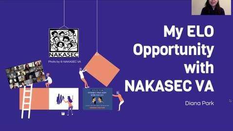 Thumbnail for entry ELO Opportunity with NAKASEC VA