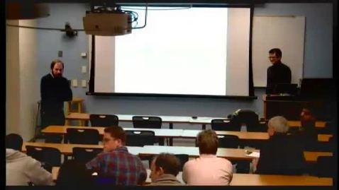 Thumbnail for entry ORIE Colloquium, 2013-02-08 - Amitabh Basu: Mixed Integer Optimization : A Solution Methodology