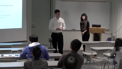 Thumbnail for entry CAM Colloquium, 2016-02-26 - Qing Zhao: Active Inference for Anomaly Detection