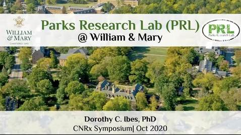 Thumbnail for entry Dorothy Ibes, William & Mary, Parks Research Lab (PRL) @ William and Mary