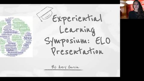 Thumbnail for entry ELO Presentation - The Mehta Research Group - Avery Garcia