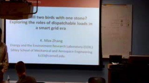 Thumbnail for entry Ezra's Round Table - 2010/10/22 - Max Zhang