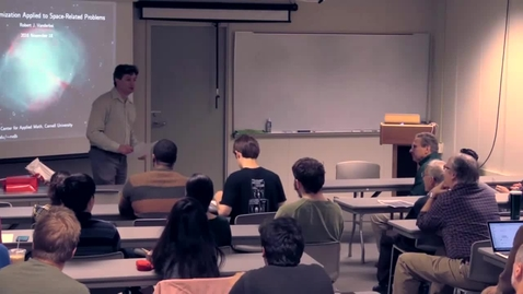Thumbnail for entry CAM Colloquium, 2016-11-18 - Robert Vanderbei: Numerical Optimization Applied to Space-Related Problems