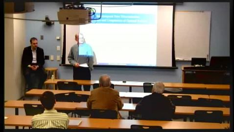 Thumbnail for entry ORIE Colloquium, 2013-01-28 - Ilan Lobel: Intertemporal Price Discrimination: Structure and Computation of Optimal Policies