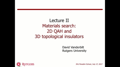 Thumbnail for entry Vanderbilt-IntroTopology2