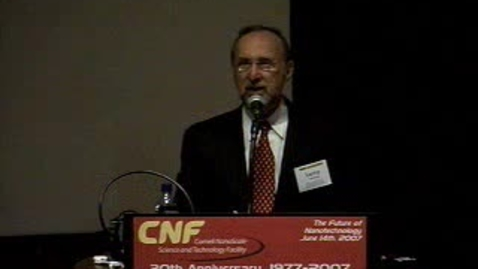 Thumbnail for entry CNF 30th (2007) Video 2, Welcoming Remarks with Lawrence Goldberg