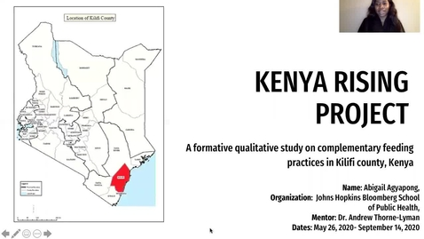 Thumbnail for entry Complementary Feeding Practices in Kilifi County, Kenya