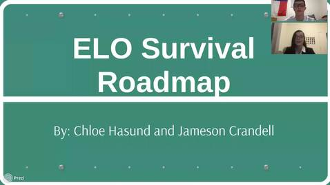 Thumbnail for entry ELS Survival Roadmap - Chloe Hasund and Jameson Crandell
