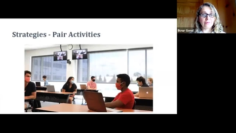 Thumbnail for entry Teaching Strategies 3 - Pair Activities