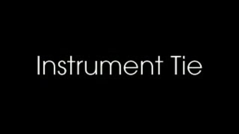 Thumbnail for entry Instrument Tie (Suture Patterns)