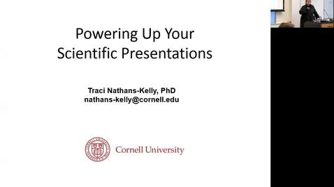 Thumbnail for entry 2018 Science Immersion_Powering Up your Presentation