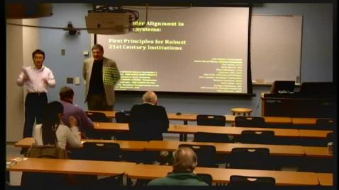 Thumbnail for entry Ezra's Round Table/Systems Engineering Seminar, 11/30/2012 - Joel Cutcher-Gershenfeld