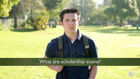 What are scholarship scams?