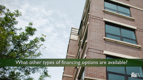 What other types of financing options are available?