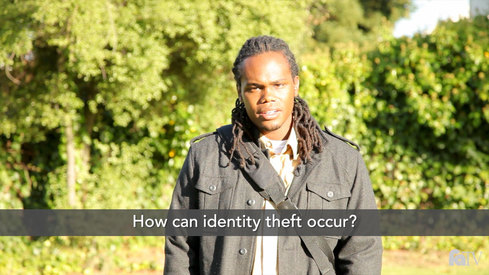 How can identity theft occur?