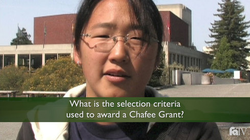 What is the selection criteria used to award Chafee Grants?